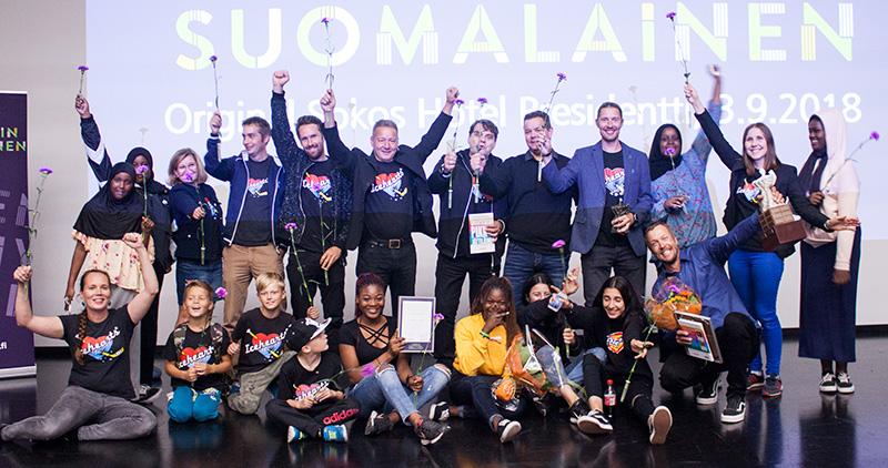 Vuoden Positiivisin Suomalainen 2018 - palkitut